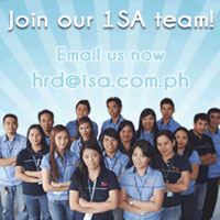 Join our ISA Team