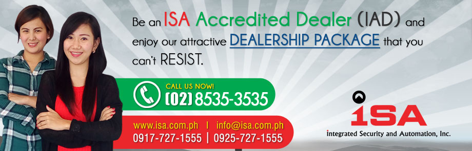 ISA Dealership Web Banner